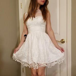 New Bebe lace dress
